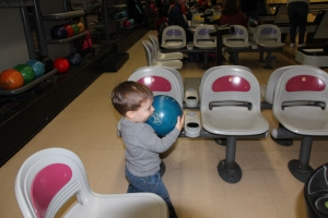 Caden's First Time Bowling 2014-02-23 014