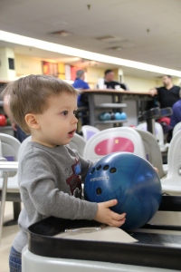 Caden's First Time Bowling 2014-02-23 015