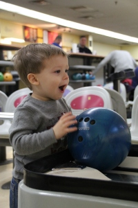 Caden's First Time Bowling 2014-02-23 017