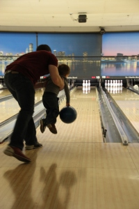 Caden's First Time Bowling 2014-02-23 051