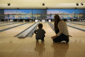 Caden's First Time Bowling 2014-02-23 057